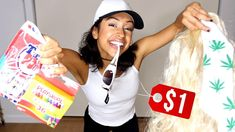 WEARING DOLLAR STORE OUTFITS! + DOLLA HAUL!  Being cheap never looked so good. Look dope for a dolla! Look yo best, for less! I'm really passionate about dollars. And not spending them. Thanks ...