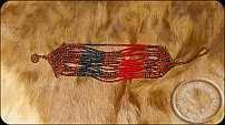 Beaded Zulu wrist band