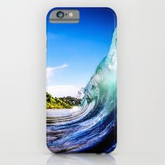 Wave Wall iPhone Case #wave #surf #sea #beach #summer #iphone