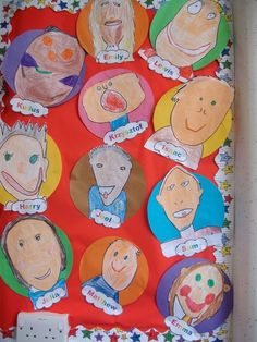 All about me ideas - Do you need an activity for the first few days of back to school?  Why not ask students to do a portrait and write an introductory paragraph of themselves.    View lots of ways this can be a fun way of learning more about your new students.