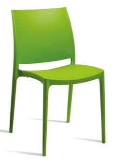 Maya V2 Chair Lime Green  sc 1 th 266 : lime green plastic chairs - Cheerinfomania.Com