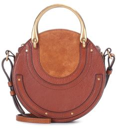 Chloé - Pixie Small leather and suede shoulder bag - Chloé s Pixie bag is  the season s 8e0bb67a9dcd2