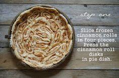 lumo lifestyle: Korvapuusti-omenapiirakka / Cinnamon roll apple pie