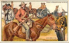 Boer War Post Cards made by the Linde's Coffee Company of Germany to further the cause of the Boers. Troops, South Africa, History, War Horses, Military, Coffee Company, Africans, Painting, Animals