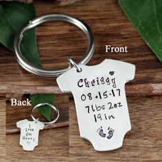 Custom Laser Engraved USA PERSONALIZED Oval Crystal Key Chain and Ring 2 Lines