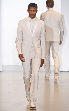 Who doesn't like a man in white right?!