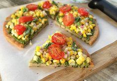Gluten-Free Quinoa Pizza Crust and Vegan Pizza - soaked
