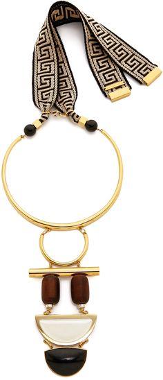 Lizzie Fortunato Column Necklace
