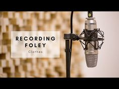 If you need help with sound I made a short tutorial on how to record clothing sounds for film and games #Videography