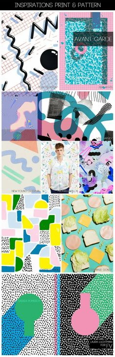 FASHION VIGNETTE: [ INSPIRATIONS PRINT + PATTERN ] KUKKA by Laura Luchtman - SS 2015 AVANT GARDE