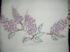 lilac embroidery