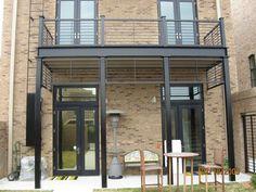 Balcon et structure en acier pour habiller votre extérieur