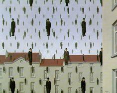 Magritte - Golconda