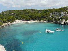 Cala Macarella, la cala más famosa de Menorca