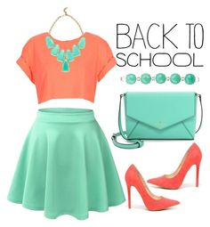 """""""#backtoschool"""" by kate-rattigan ❤ liked on Polyvore"""