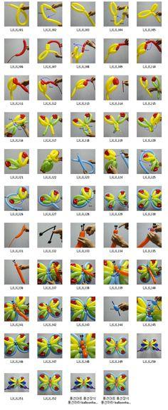 풍선하하 balloonhaha ㅡ 원본 사진 ㅡ 큰 사진은 이메일로 보내드립니다 ㅡ : 교육용 407 나비