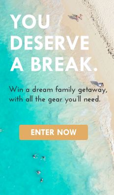 weeSpring is giving away a dream getaway, plus more than $2,500 in the best baby gear for travel. Enter at www.wee.co/win from September 24 to October 6.