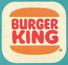 vintage Burger King logo, black on white Burger King Logo, Fast Food Logos, Logo Food, Retro Recipes, Vintage Recipes, Logo Restaurant, Typography, Lettering, Retro Logos