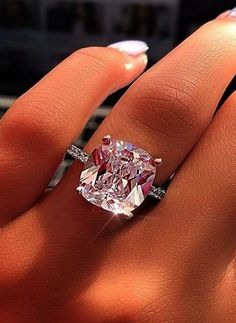 93 Best Big diamond ring images in 2019 | Jewelry, Rings