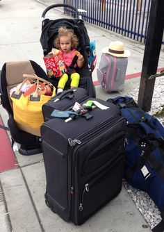 Flying with Baby and Toddler Travel Tips- Good packing list