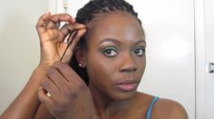 How to grow back thinning Edges #locks/Jungle Barbie
