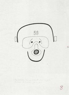"""Bruno Munari, """"Qui dedalo chiama Diomede, qui Dedalo chiama Diomede, passo"""", in Gianni Rodari, """"La torta in cielo"""", «Libri per ragazzi» n. 19, Einaudi, Torino, 1966"""
