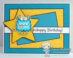 Your Next Stamp - Silly Monsters 2, Whimsy Stars Layered Die Set