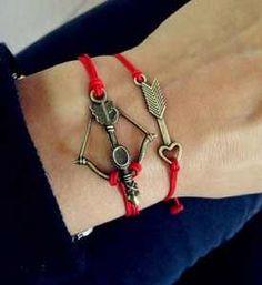 bow and arrow bracelet