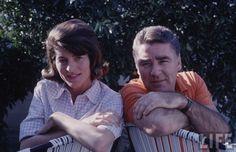 Peter Lawford & Patricia Kennedy Lawford