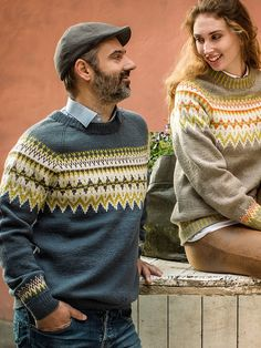 Man Crafts, Fair Isle Knitting, Lofoten, Pullover, Knit Fashion, Vintage Knitting, Fair Isles, Knitwear, Knitting Patterns