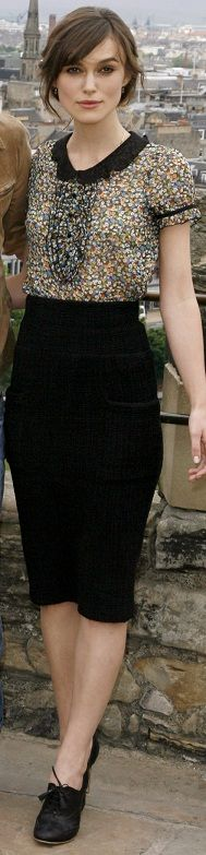 "Keira Knightley in Topshop (""Edge of Love"")"