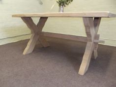 Items similar to Large Solid Oak Farmhouse Dinning Table - Thick- Vintage on Etsy Dinning Table, Solid Oak, Entryway Tables, Chairs, Farmhouse, Furniture, Vintage, Etsy, Home Decor