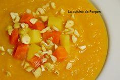 Soupe panais carotte et céleri rave - La cuisine de Ponpon: rapide et facile!