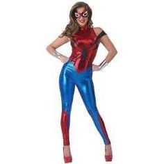 Estarás lista para trepar por las paredes como una araña, serás una Spidergirl muy sexy.