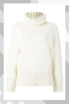 The R29 Guide To The Best Fall Sweaters #refinery29  http://www.refinery29.com/best-fall-sweaters#slide-8  This is super chic with a cigarette pant....