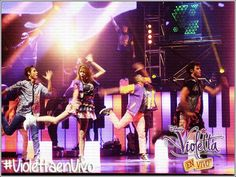 #ViolettaEnVivo!