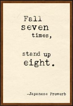 Stand up eight.
