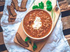 Aivan ihana linssikeitto. Pienellä panostuksella ja pienellä kustannuksella valmistat aivan ihanan linssisopan. #linssikeitto #kasviskeitot #kasvisreseptit Hummus, Koti, Ethnic Recipes