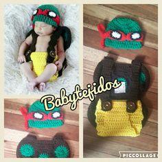 tortuga ninja Babytejidos
