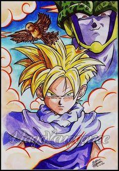 Resultado de imagen para dragon ball z manga color