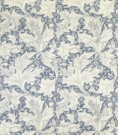 Wallflower wallpaper, by William Morris. England, late 19th century