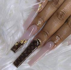 Drip Nails, Glow Nails, Trendy Nails, Cute Nails, Stylish Nails, 21st Birthday Nails, Dope Nail Designs, Exotic Nail Designs, Acrylic Nails Coffin Pink