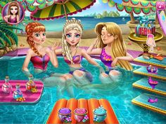 Princess Pool Party - Play Free At: http://flashgamesempire.blogspot.co.uk/2017/06/princess-pool-party.html