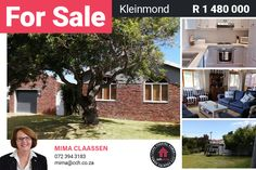 Value for money! Tasteful and fresh open plan with modern kitchen, 3 bedrooms, 2 bathrooms, and braai area overlooking the garden at the back. This well-maintained home is close to a Nature Reserve green belt. North facing with a lovely mountain view. Single garage with two small storerooms. Low maintenance and low monthly costs (property tax R352pm) #CCH #kleinmond #palmiet #propertyforsale #homesforsale #kleinmondpropertyforsale #propertiesforsale #housesforsale #palmietpropertyforsale Property Tax, Property For Sale, Provinces Of South Africa, Green Belt, 3 Bedroom House, Nature Reserve, Coastal Homes, Mountain View, Open Plan