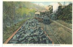 Worley Mine #4,McCreary County Ky