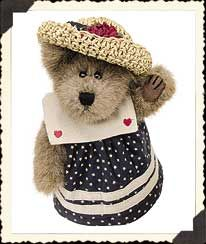 "Caroline Mayflower (Boyds Bear 6"" retired)"