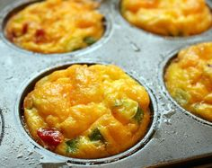 Quick Dinner Ideas: Ham Omelet Muffin Recipe - Little Miss Kate Omelette Muffins, Breakfast For Dinner, Muffin Recipes, Little Miss, Food Art, Love Food, Healthy Snacks, Dairy Free, Curry