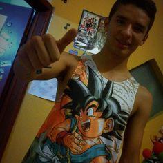Camisilla Dragon Ball  https://www.facebook.com/CamisetasDamnit/