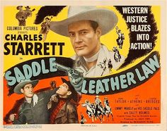 Saddle Leather Law - Benjamin H. Kline – 1944 http://western-mood.blogspot.fr/2016/11/saddle-leather-law-benjamin-h-kline-1944.html#links