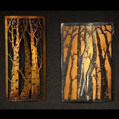 Above the Fireplace - Benjamin BJamin' Stielow Custom Metal Artwork - metal-art